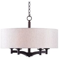 Rutherford 5 Light 24 inch Oil Rubbed Bronze Pendant Ceiling Light