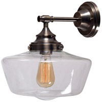 Cambridge 1 Light 13 inch Aged Metal Sconce Wall Light