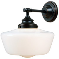 Kenroy Lighting 93659ORB Cambridge 1 Light 6 inch Oil Rubbed Bronze Sconce Wall Light