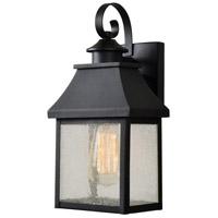 Kenroy Lighting 93681BL Nelson 1 Light 11 inch Black Outdoor Wall Lantern Medium