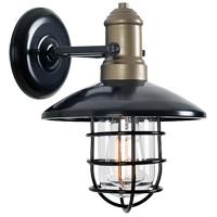 Kenroy Lighting 93711BRZ Outlook 1 Light 14 inch Bronze Outdoor Wall Lantern Small