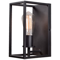 Kenroy Lighting 93821GRPH Cubed 1 Light 13 inch Graphite Wall Sconce Wall Light