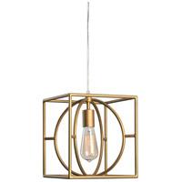 Kenroy Lighting 93882GLD Adele 1 Light 11 inch Gold Swag Pendant Ceiling Light