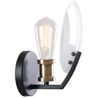 Kenroy Lighting 94010BL Finlay 1 Light 10 inch Black Wall Sconce Wall Light
