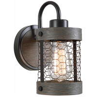 Kenroy Lighting 94047ORB Cozy 1 Light 10 inch Oil Rubbed Bronze Wall Sconce Wall Light