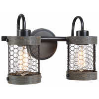 Kenroy Lighting 94048ORB Cozy 2 Light 17 inch Oil Rubbed Bronze Vanity Light Wall Light