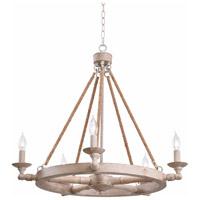 Kenroy Lighting 94085WW Timone 5 Light 30 inch Weathered Wood Chandelier Ceiling Light