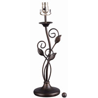 Snyder 28 inch 100 watt Bronze Heritage Table Lamp Base Portable Light in No