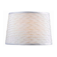 Kenroy Lighting FMSH107-15-WH Signature White 15 inch Drum Shade