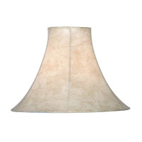 Kenroy Lighting Signature Shade in Tan Faux Leather FMSH113-15-TN