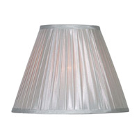 Kenroy Lighting FMSH215-15-SIL Signature Silver 15 inch Shade