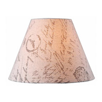 Kenroy Lighting FMSH904-15-LN Signature French Print 15 inch Shade