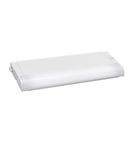 Kichler Lighting Modular Fluorescent 120v/8w Cabinet Strip/Bar Light in White 10026WH