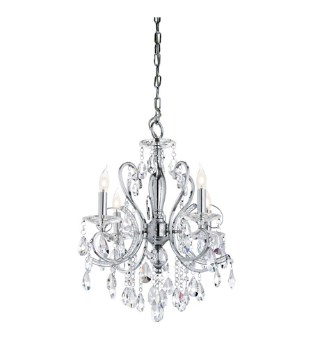 Kichler Lighting Marcalina 4 Light Mini Chandelier in Chrome 1002CH