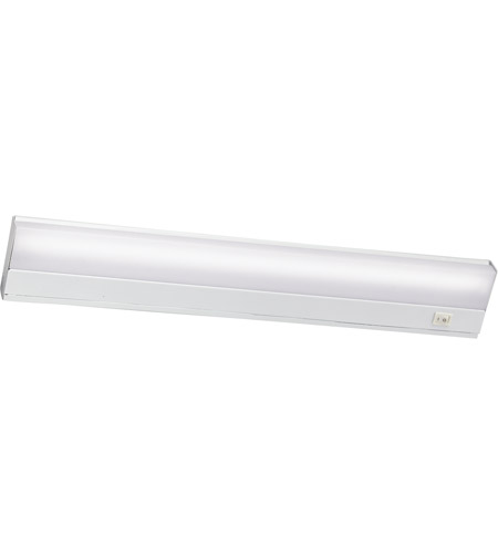 Kichler Lighting Direct-Wire Fluorescent 13W Cabinet Strip/Bar Light in White 10042WH