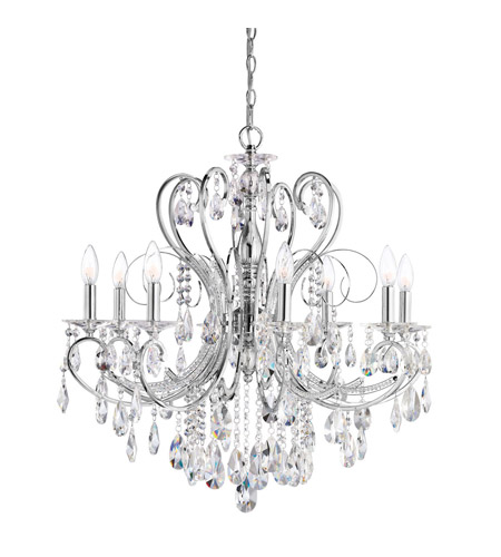 Kichler Lighting Marcalina 8 Light Chandelier in Chrome 1013CH photo