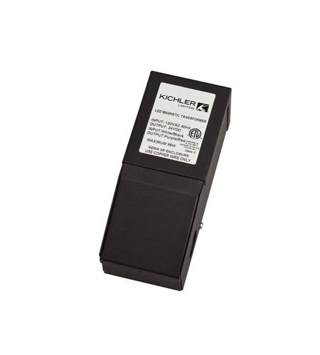 10192BK60 kichler 10192bk60 direct wire led black 7 inch dimmable transformer
