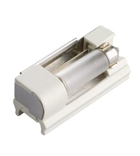 Kichler 10216WH Linear 1 Light 12V White Track Festoon Socket Ceiling Light