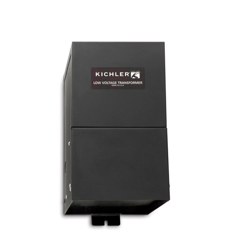 Kichler Lighting Transformer 24v/300w Cabinet Accessory in Black (Painted) 10219BK