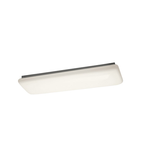 Kichler Lighting Signature 2 Light Fluorescent Flush Mount in White 10301WH