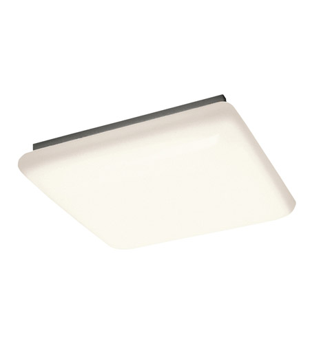 Kichler Lighting Signature 4 Light Fluorescent Flush Mount in White 10304WH photo