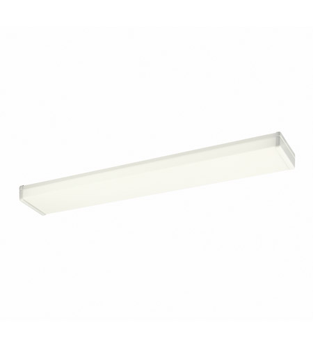 Kichler Lighting Signature 2 Light Fluorescent Flush Mount in White 10322WH photo