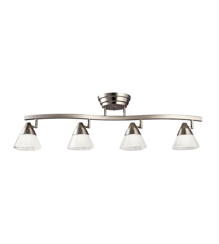 Kichler Lighting Fixed Rail LED Rail Lights in Brushed Nickel 10325NI