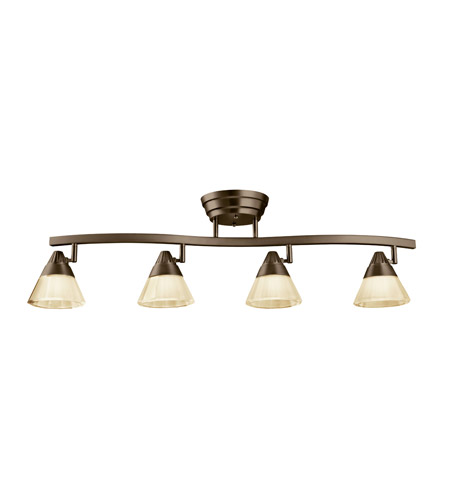 Kichler Lighting Fixed Rail LED Rail Light in Olde Bronze 10325OZ photo