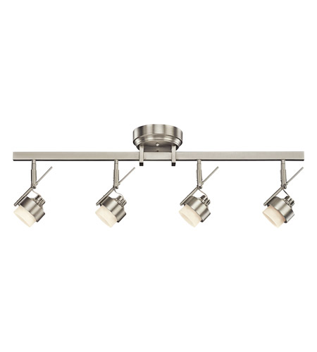 Kichler Lighting Fixed Rail LED Rail Light in Brushed Nickel 10326NI