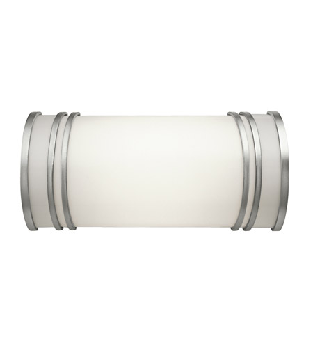 Kichler Lighting Signature 2 Light Fluorescent Bath Vanity in White 10328WH photo