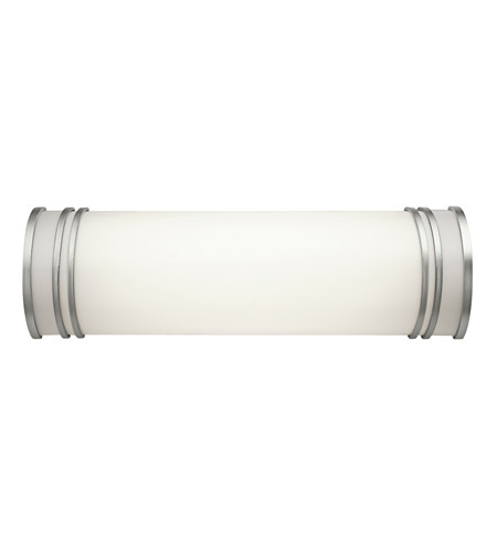 Kichler Lighting Signature 2 Light Fluorescent Bath Vanity in White 10329WH