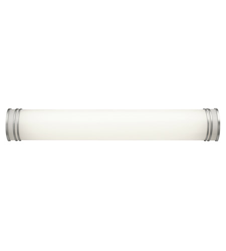 Vanity Fluorescent Lights Bathroom : Kichler Lighting Signature 2 Light Fluorescent Bath Vanity in White 10331WH