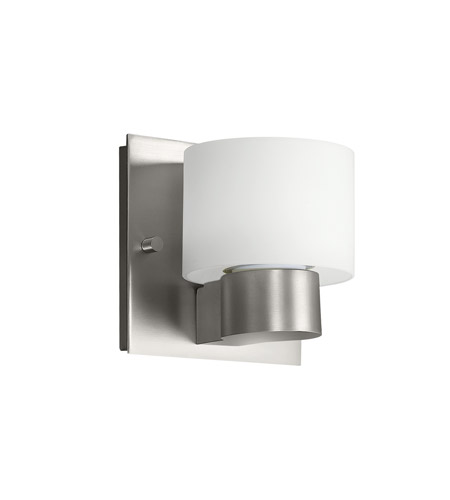 Kichler Lighting Adao 1 Light Fluorescent Sconce in Brushed Nickel 10402NI
