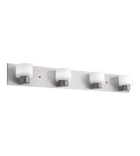 Kichler Lighting Adao 4 Light Fluorescent Bath Vanity in Brushed Nickel 10404NI