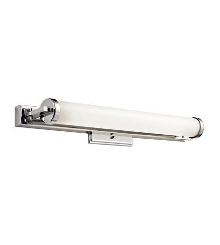Kichler Lighting Jervis 1 Light Fluorescent Bath Vanity in Polished Chrome 10405PC photo