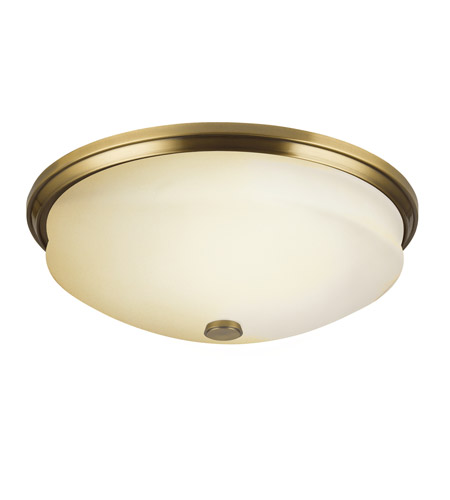 Kichler Lighting Pierson 3 Light Fluorescent Sconce in Antique Brass 10409AB