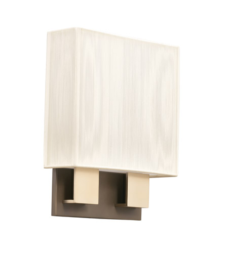 Kichler Lighting Santiago 2 Light Fluorescent Sconce in Champagne 10439CPBG