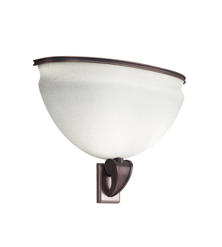Kichler Lighting Pierson 2 Light Fluorescent Sconce in Royal Bronze 10442RBZ