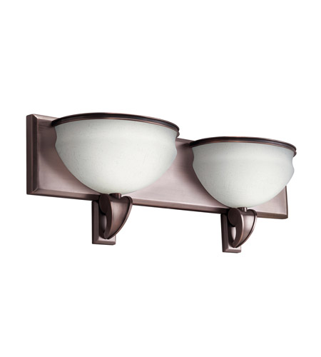 Kichler 10443RBZ Pierson 2 Light 24 inch Royal Bronze Fluorescent Bath Vanity Wall Light photo