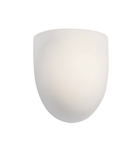 Kichler Lighting Lima 1 Light Fluorescent Sconce in White 10447WH photo