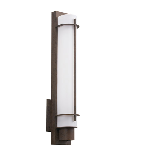 Kichler 10448OZ Visalia 1 Light 5 inch Olde Bronze Fluorescent Sconce Wall Light photo