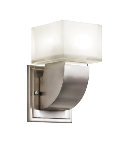 Kichler Lighting Islita 1 Light Fluorescent Sconce in Brushed Nickel 10449NI photo