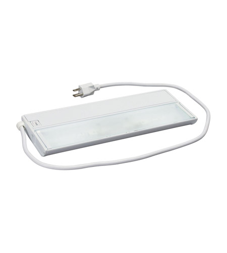 Kichler Lighting Modular 2Lt Xenon w/Cord&Plug Cabinet Strip/Bar Light in White 10561WH