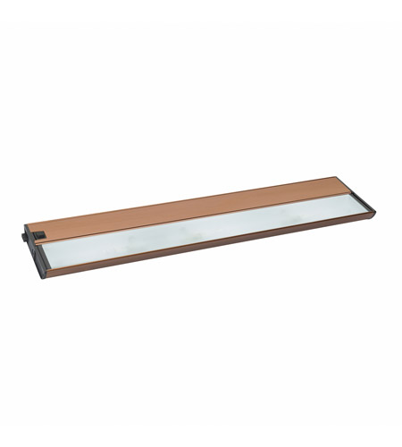 Kichler Lighting Modular 3Lt Xenon 12v/18w Cabinet Strip/Bar Light in Brushed Bronze 10563BRZ