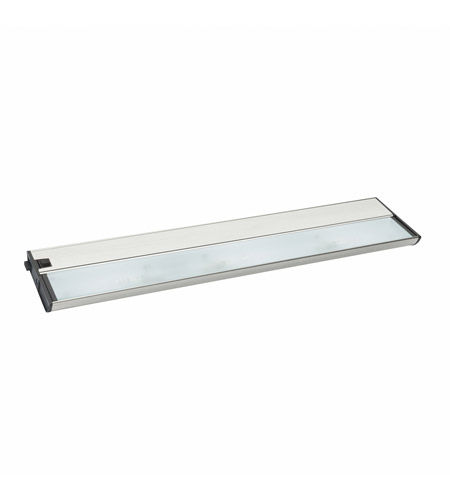 Kichler Lighting Modular 3Lt Xenon 12v/18w Cabinet Strip/Bar Light in Brushed Nickel 10563NI