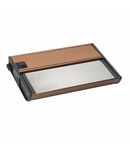 Kichler Lighting Modular 1Lt Xenon 12v/18w Cabinet Strip/Bar Light in Brushed Bronze 10565BRZ