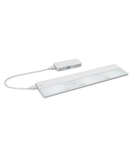 Kichler Lighting Modular 3Lt Xenon All in one Cabinet Strip/Bar Light in White 10566WH