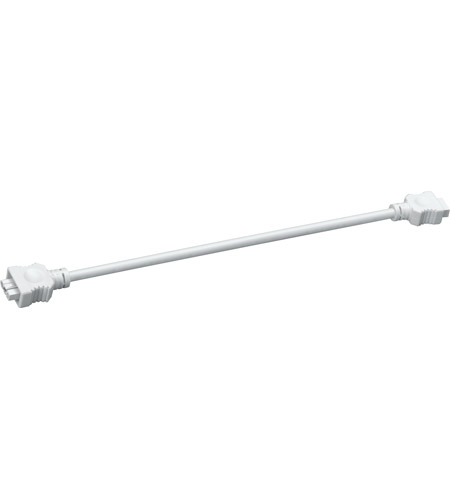 Kichler Lighting Interconnect Cable 14inch Cabinet Accessory in White Material 10572WH