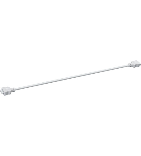 Kichler Lighting Interconnect Cable 21inch Cabinet Accessory in White Material 10573WH