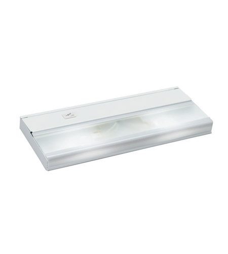 Kichler Lighting Direct-Wire 2Lt Xenon 12v/18w Cabinet Strip/Bar Light in White 10580WH